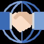 Spojené ruce - grafika
